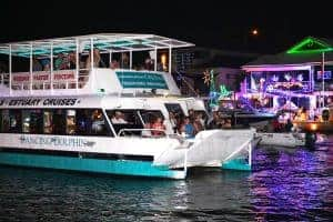 Dancing Dolphin Christmas Lights Cruise