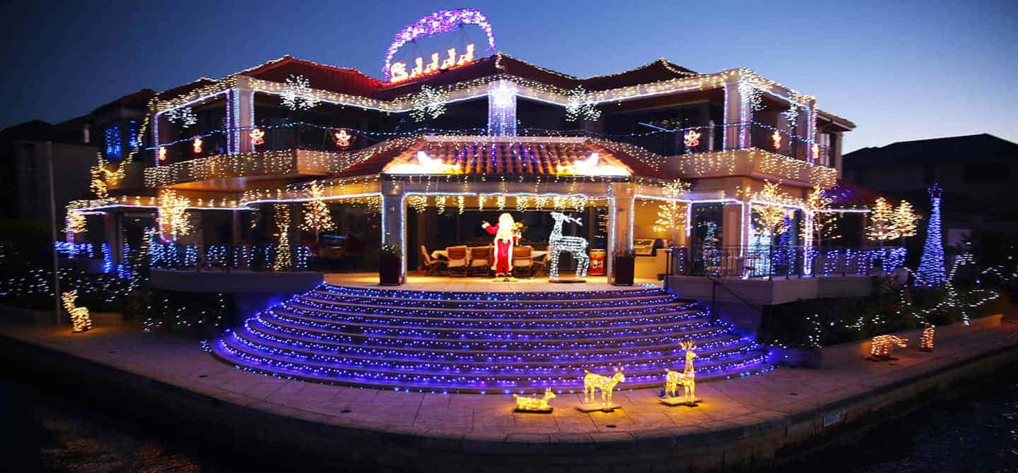Christmas Lighting.Best Christmas Lights In Perth Mandurah Mandurah Cruises