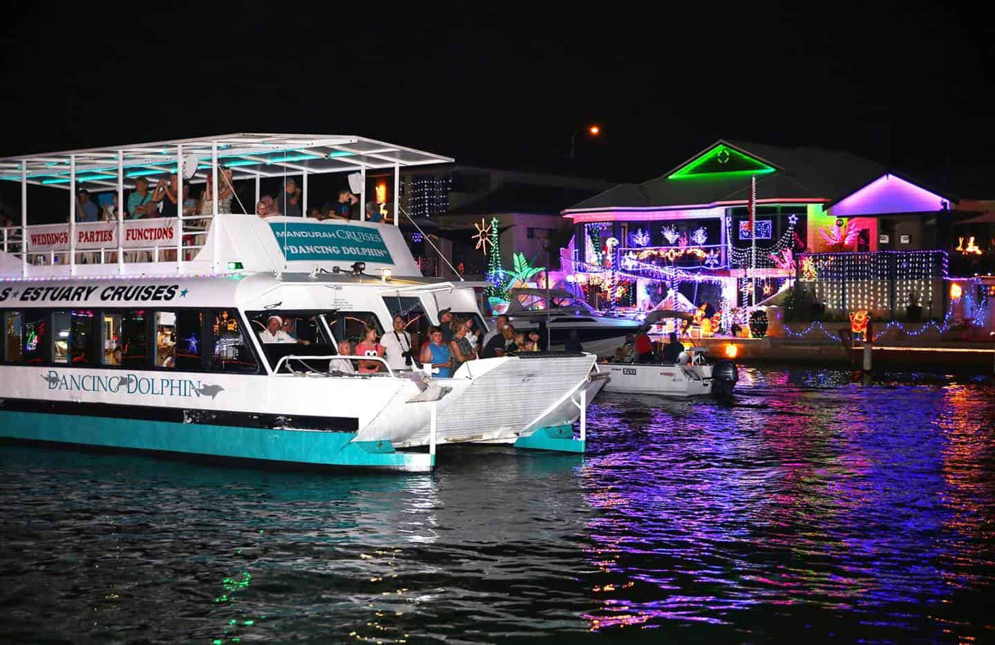 Christmas Cruises.Best Christmas Lights In Perth Mandurah Mandurah Cruises