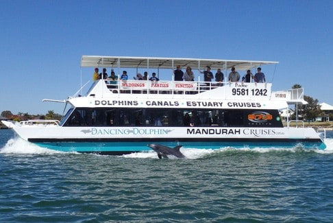Dancing Dolphin Party Boat Hire