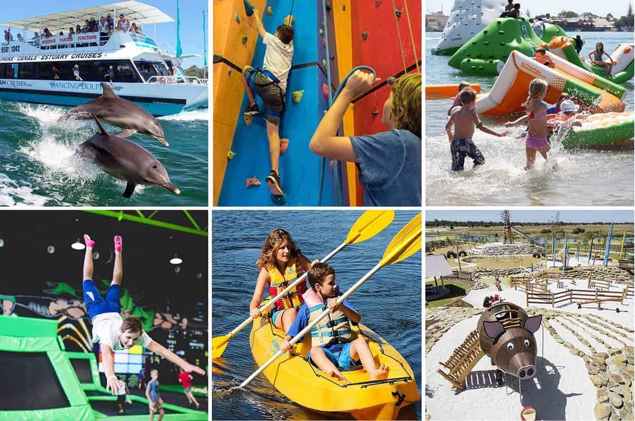 mandurah summer school holidays top things to do