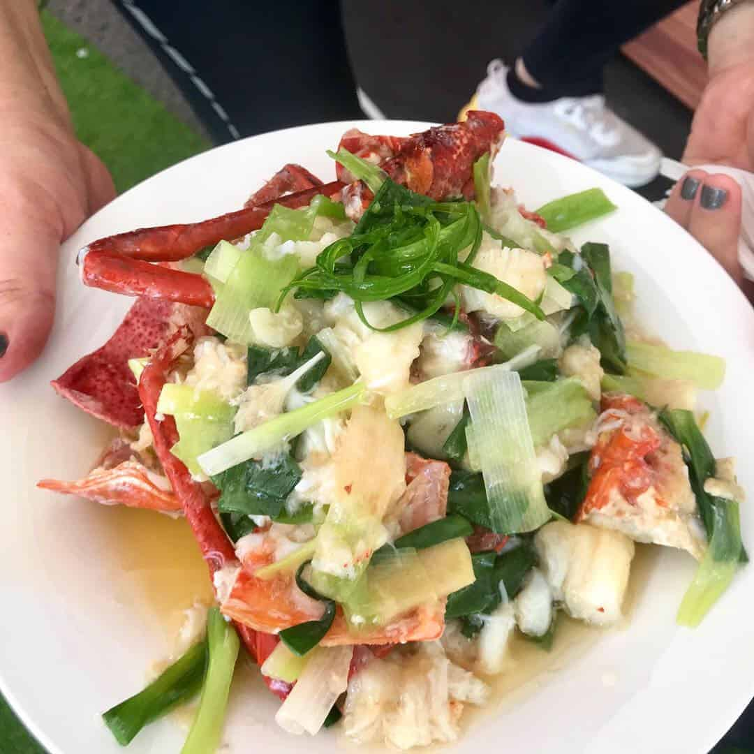 lobster stirfry