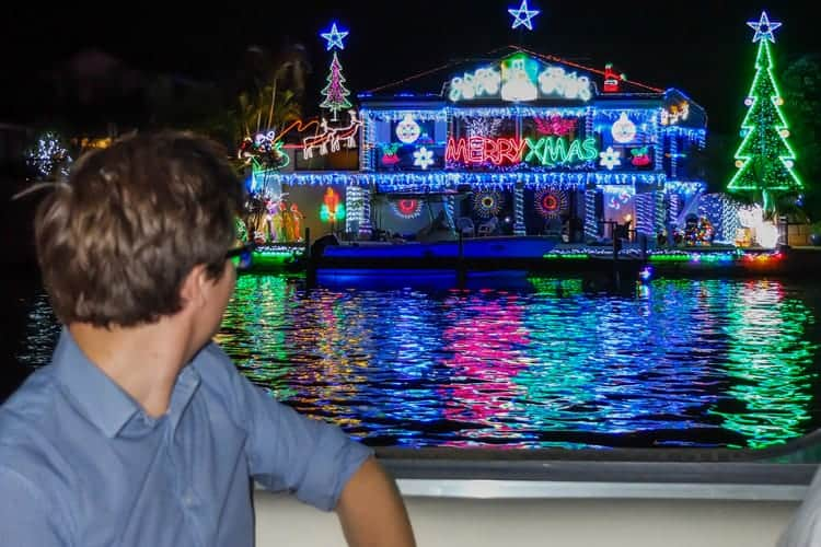Mandurah Christmas Lights Cruise Charter