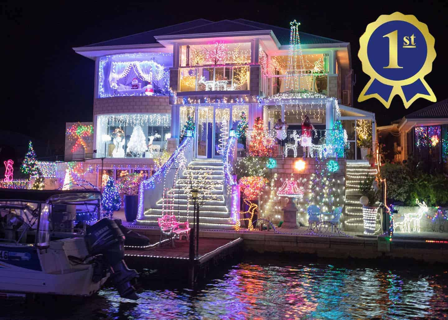 mandurah christmas lights winners