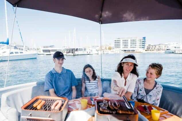 mandurah eco bbq boats hire