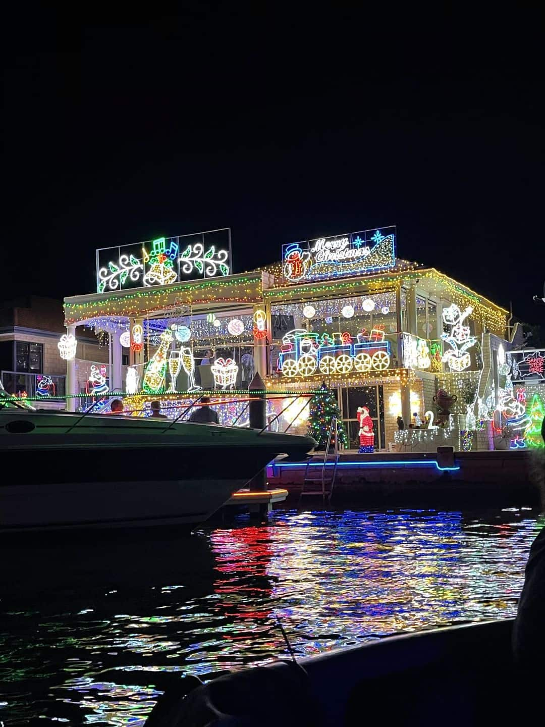 1st Place - Christmas Lights Photo Competition