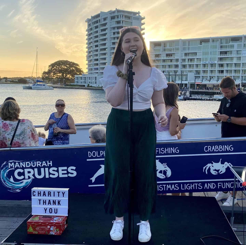 Christie McGarrity - Christmas Lights Cruise Performer